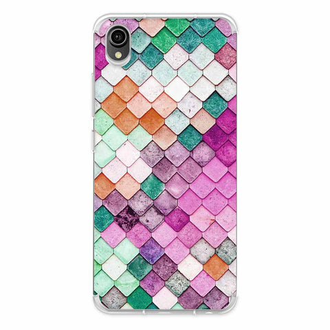 Diamond Lattice Soft Flex Tpu Case For Vivo Y90