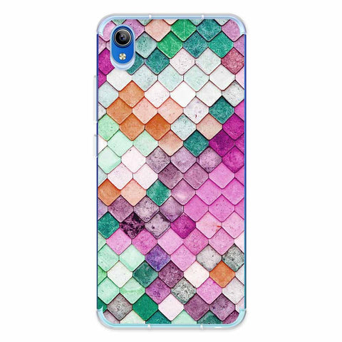 Diamond Lattice Soft Flex Tpu Case For Vivo Y91i