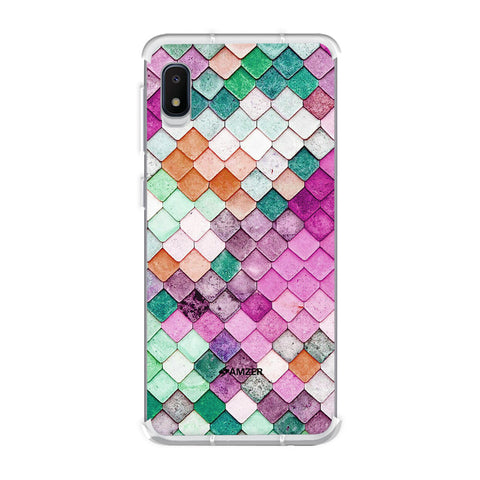 Diamond Lattice Soft Flex Tpu Case For Samsung Galaxy A10e
