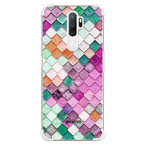 Diamond Lattice Soft Flex Tpu Case For Oppo A5 2020