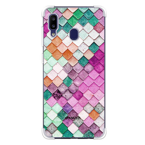 Diamond Lattice Soft Flex Tpu Case For Samsung Galaxy M10s