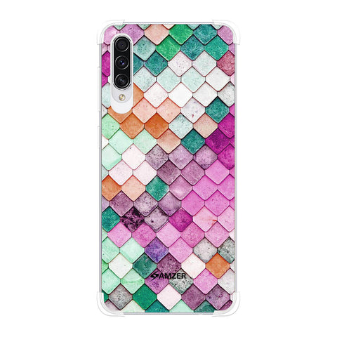 Diamond Lattice Soft Flex Tpu Case For Samsung Galaxy A50s