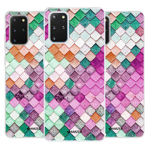 Diamond Lattice Soft Flex Tpu Case For Samsung Galaxy S20+