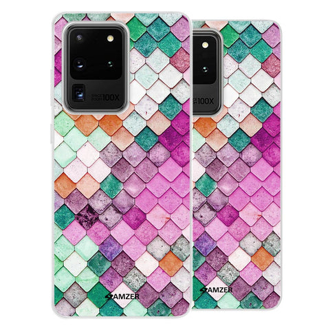 Diamond Lattice Soft Flex Tpu Case For Samsung Galaxy S20 Ultra