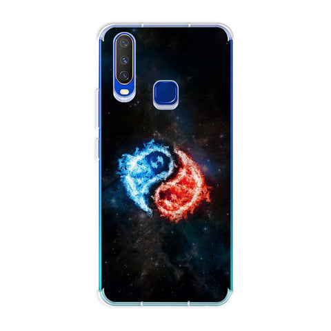 Element - Fire & Water Soft Flex Tpu Case For Vivo Y15 2019