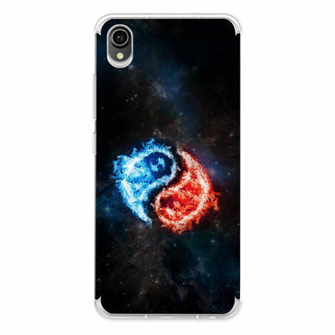Element - Fire & Water Soft Flex Tpu Case For Vivo Y90