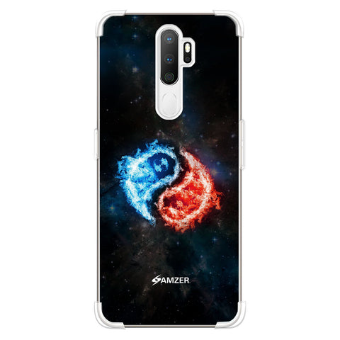 Element - Fire & Water Soft Flex Tpu Case For Oppo A5 2020