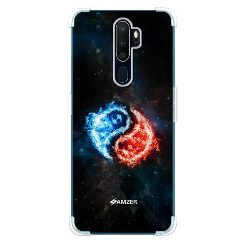 Element - Fire & Water Soft Flex Tpu Case For Oppo A9 2020