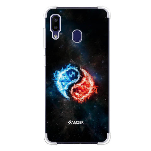 Element - Fire & Water Soft Flex Tpu Case For Samsung Galaxy M10s