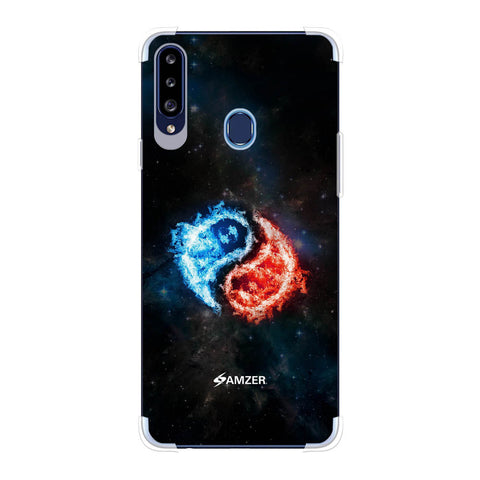 Element - Fire & Water Soft Flex Tpu Case For Samsung Galaxy A20s