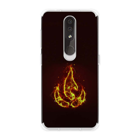 Element - Fire Soft Flex Tpu Case For Nokia 4.2