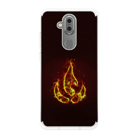 Element - Fire Soft Flex Tpu Case For Nokia 7.1 Plus