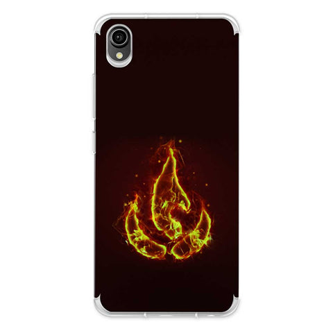 Element - Fire Soft Flex Tpu Case For Vivo Y90