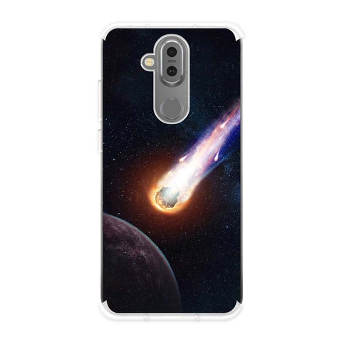 Shooting Star Soft Flex Tpu Case For Nokia 7.1 Plus