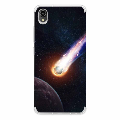 Shooting Star Soft Flex Tpu Case For Vivo Y90