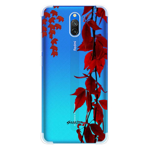Autumn Leaves Soft Flex Tpu Case For Redmi 8A Dual