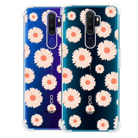 Gerbera Daisies Soft Flex Tpu Case For Oppo A9 2020