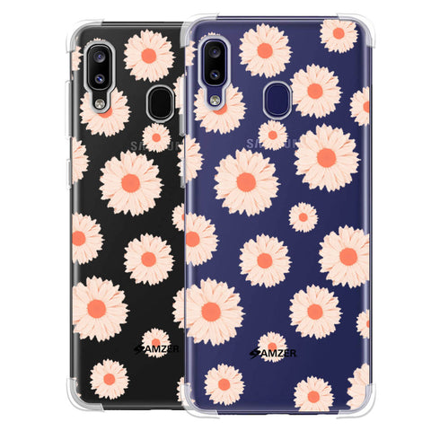 Gerbera Daisies Soft Flex Tpu Case For Samsung Galaxy M10s