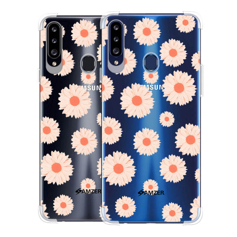 Gerbera Daisies Soft Flex Tpu Case For Samsung Galaxy A20s