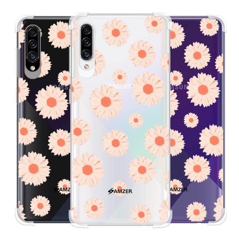 Gerbera Daisies Soft Flex Tpu Case For Samsung Galaxy A30s