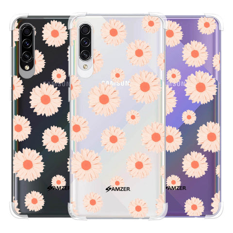 Gerbera Daisies Soft Flex Tpu Case For Samsung Galaxy A50s