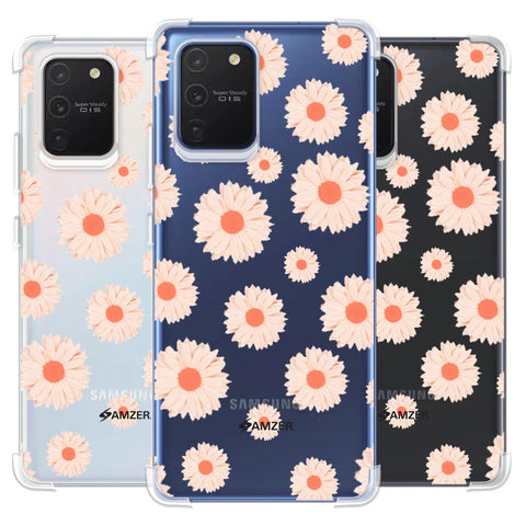 Gerbera Daisies Soft Flex Tpu Case For Samsung Galaxy S10 Lite