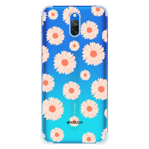 Gerbera Daisies Soft Flex Tpu Case For Redmi 8A Dual