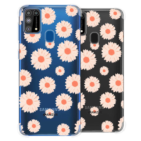 Gerbera Daisies Soft Flex Tpu Case For Samsung Galaxy M31