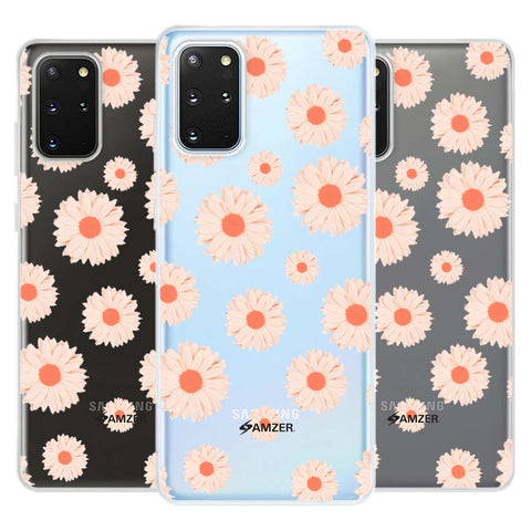 Gerbera Daisies Soft Flex Tpu Case For Samsung Galaxy S20+