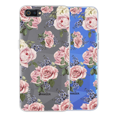 Garden roses Soft Flex Tpu Case For Realme C2