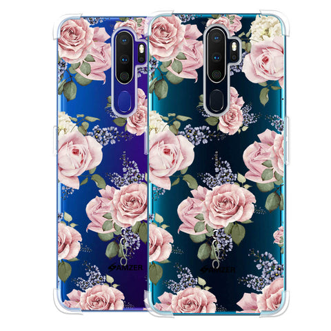 Garden roses Soft Flex Tpu Case For Oppo A9 2020