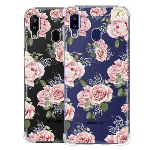 Garden roses Soft Flex Tpu Case For Samsung Galaxy M10s
