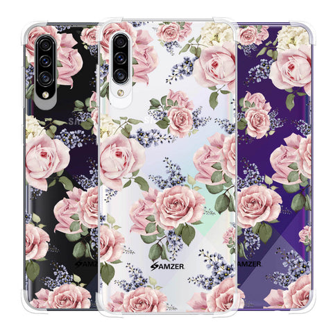 Garden roses Soft Flex Tpu Case For Samsung Galaxy A30s