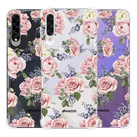 Garden roses Soft Flex Tpu Case For Samsung Galaxy A50s