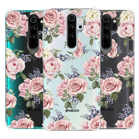 Garden roses Soft Flex Tpu Case For Redmi Note 8 Pro