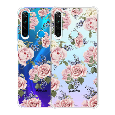 Garden roses Soft Flex Tpu Case For Redmi Note 8