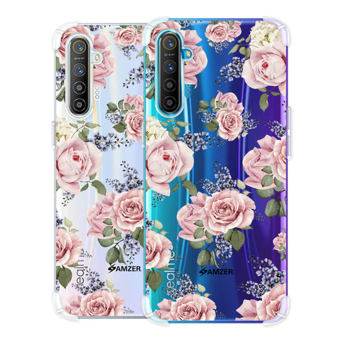 Garden roses Soft Flex Tpu Case For Realme X2