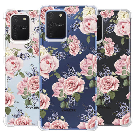 Garden roses Soft Flex Tpu Case For Samsung Galaxy S10 Lite