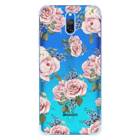 Garden roses Soft Flex Tpu Case For Redmi 8A Dual