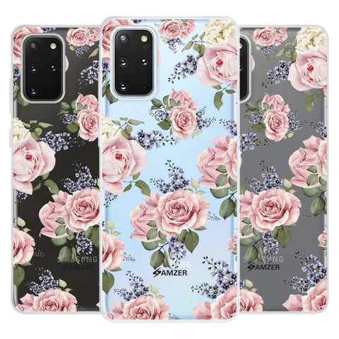 Garden roses Soft Flex Tpu Case For Samsung Galaxy S20+