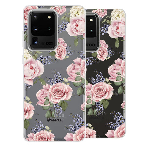 Garden roses Soft Flex Tpu Case For Samsung Galaxy S20 Ultra