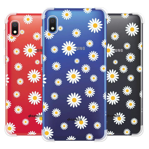White Daisies Soft Flex Tpu Case For Samsung Galaxy A10e
