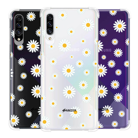 White Daisies Soft Flex Tpu Case For Samsung Galaxy A30s