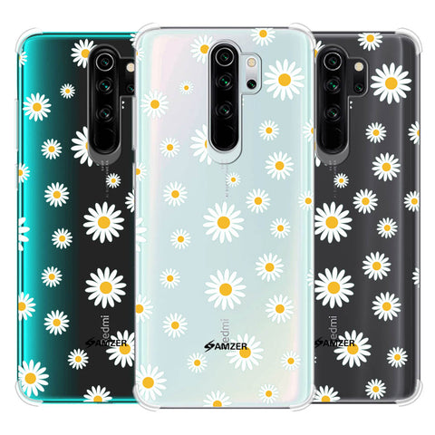 White Daisies Soft Flex Tpu Case For Redmi Note 8 Pro