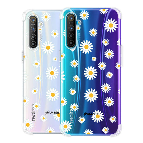 White Daisies Soft Flex Tpu Case For Realme X2