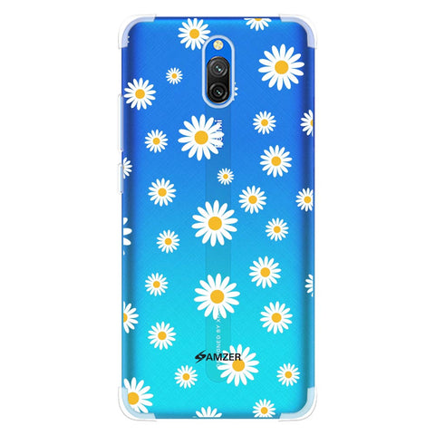 White Daisies Soft Flex Tpu Case For Redmi 8A Dual
