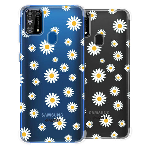 White Daisies Soft Flex Tpu Case For Samsung Galaxy M31