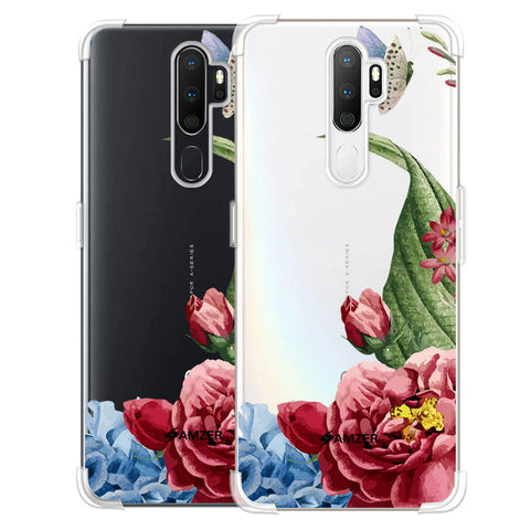Tulips Soft Flex Tpu Case For Oppo A5 2020