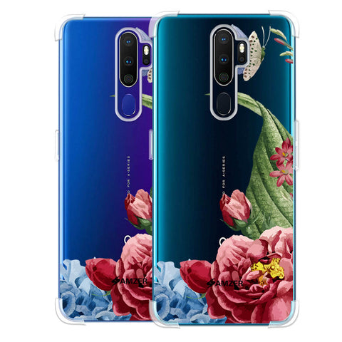 Tulips Soft Flex Tpu Case For Oppo A9 2020