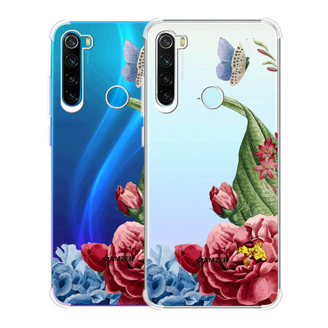 Tulips Soft Flex Tpu Case For Redmi Note 8